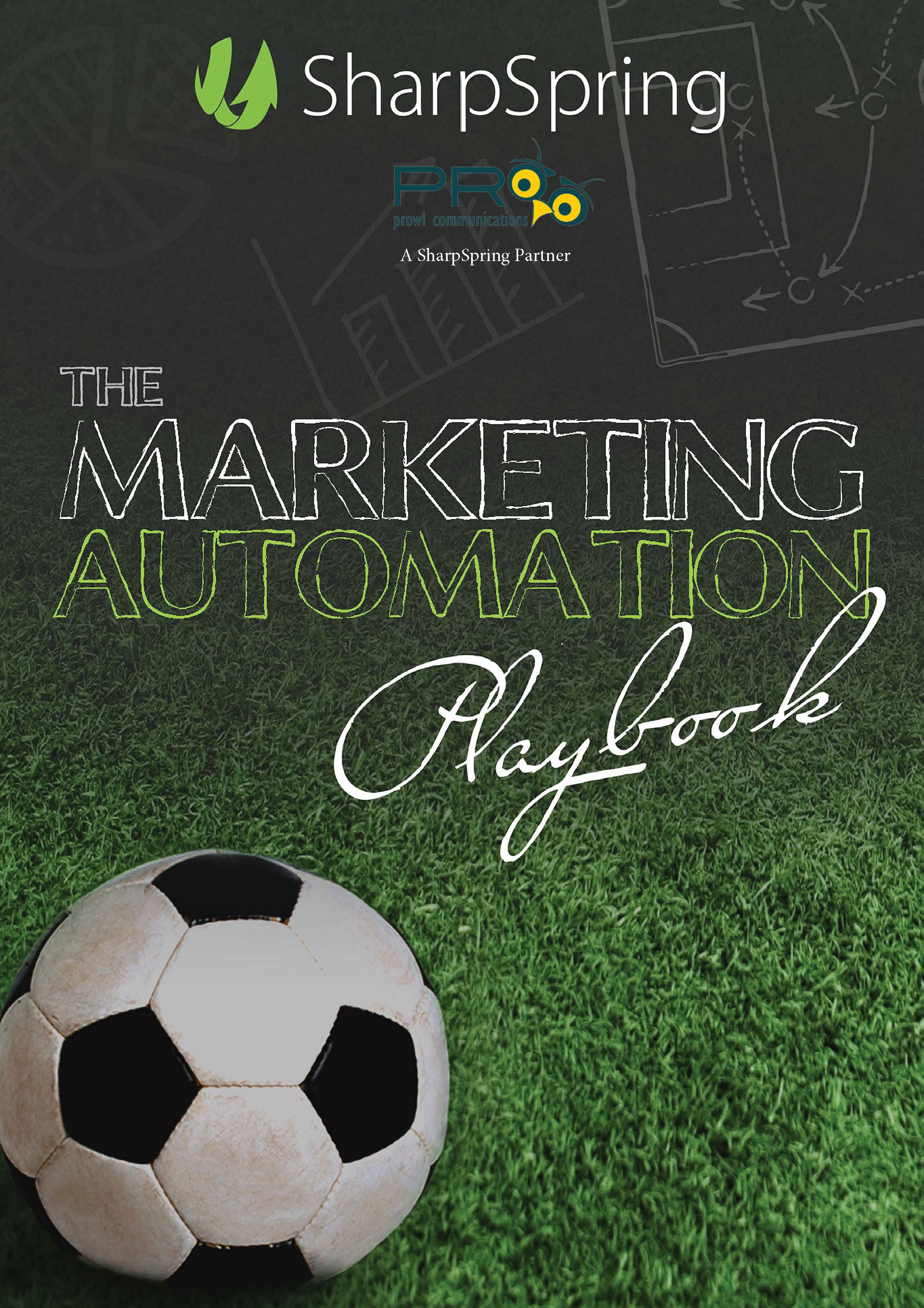 soccer goal field marketing automation playbook cover