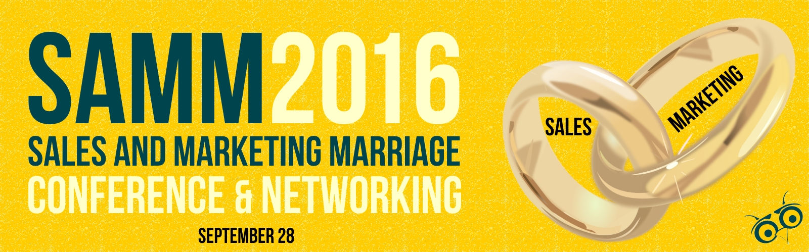 SaMM2016 - The Sales & Marketing Marriage Conference