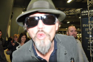 Tommy Flanagan kissing my camera