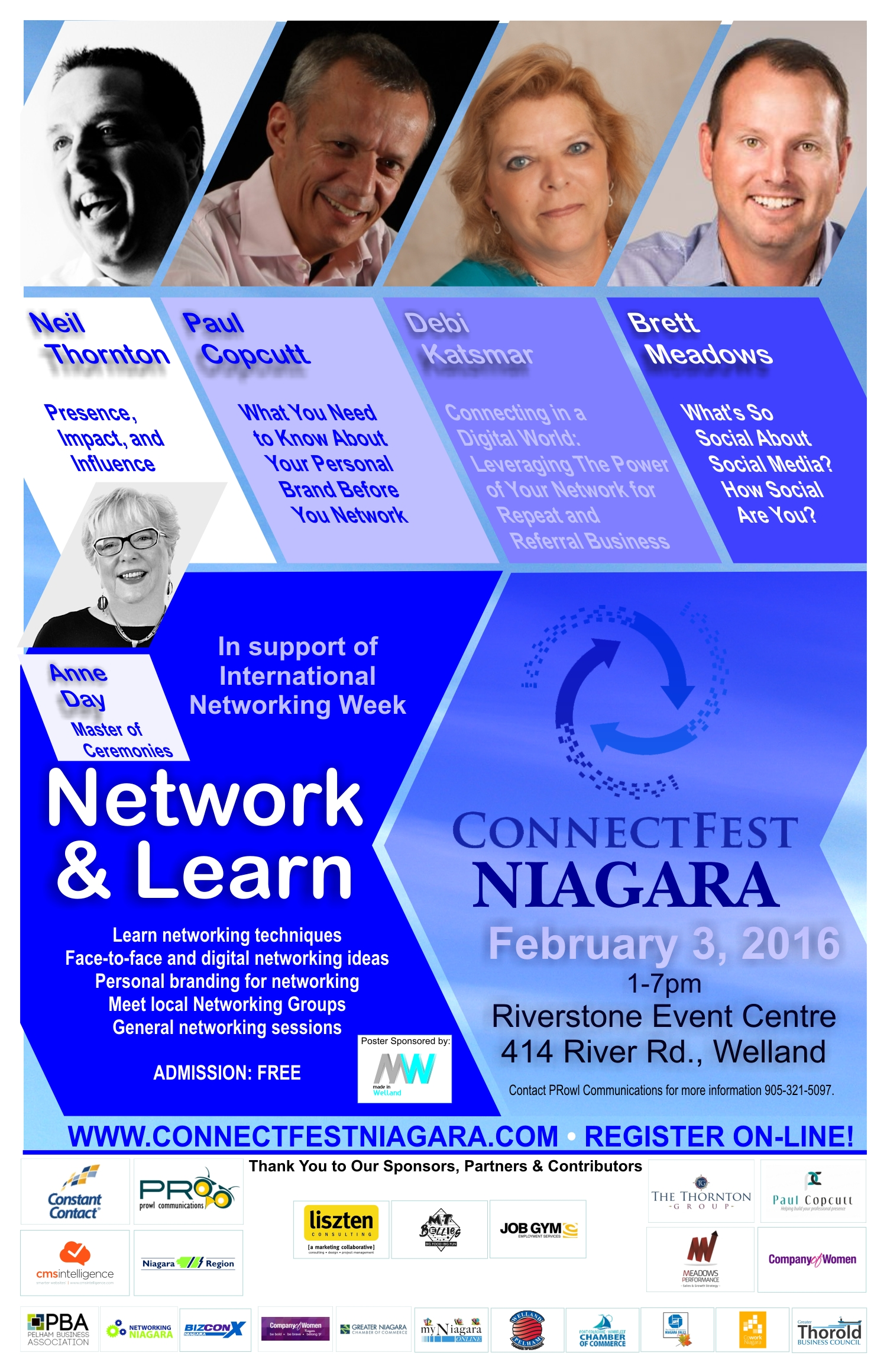 Connectfest Niagara Poster