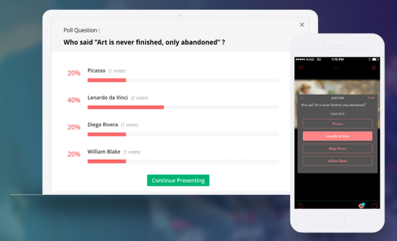 showtime interactive poll