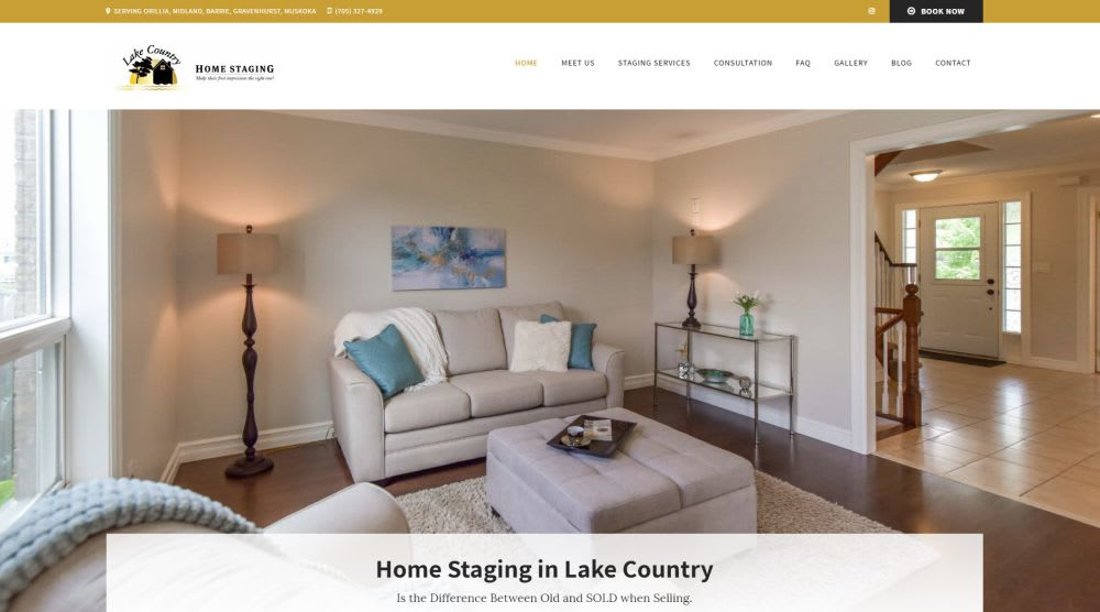 Lake Country Home Staging