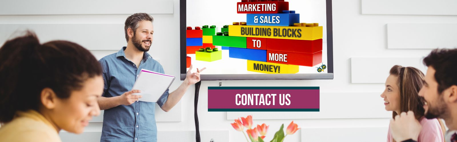 Discovering the marketing & sales business blocks to more money in Ontario