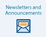 newsletters and announcements
