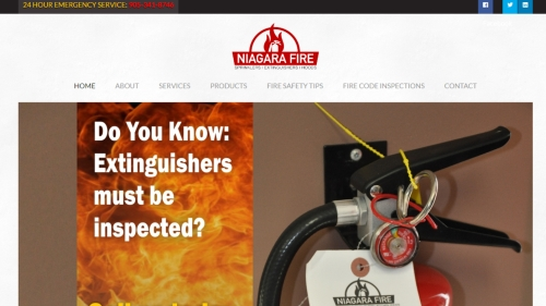 Niagara Fire website image