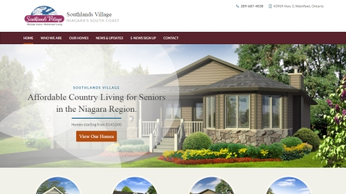 southlands village website image