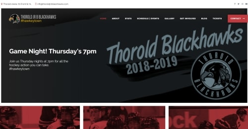 Thorold JR B Blackhawks