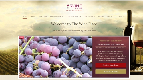 the wine place st catharines web image